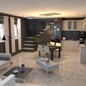 photos apartment decor living room kitchen dining room ideas