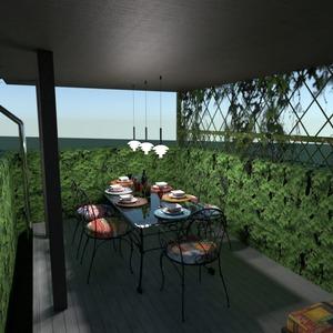 foto casa veranda oggetti esterni sala pranzo idee