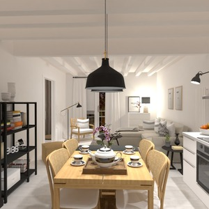 fotos apartamento bricolaje salón cocina ideas