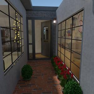 fotos casa área externa iluminação patamar ideias
