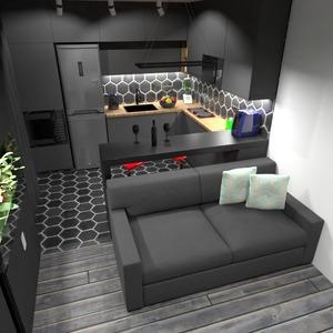 photos appartement meubles décoration cuisine studio idées
