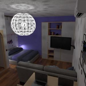 photos appartement maison meubles chambre à coucher salon eclairage rénovation maison salle à manger studio idées
