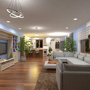 fotos wohnzimmer küche beleuchtung ideen