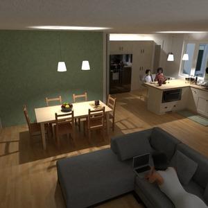 zdjęcia mieszkanie pokój dzienny kuchnia gospodarstwo domowe jadalnia pomysły