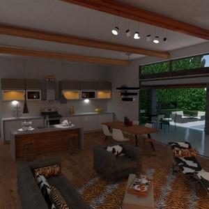 zdjęcia pokój dzienny kuchnia krajobraz jadalnia pomysły