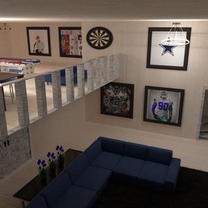 foto decorazioni angolo fai-da-te saggiorno garage illuminazione idee