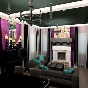 zdjęcia mieszkanie dom wystrój wnętrz pokój dzienny oświetlenie remont jadalnia mieszkanie typu studio pomysły