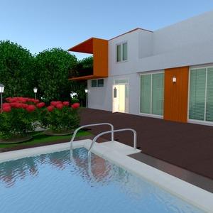 photos house terrace outdoor lighting landscape ideas