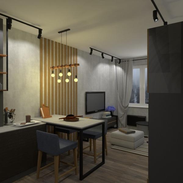 fotos apartamento mobílias quarto cozinha estúdio ideias