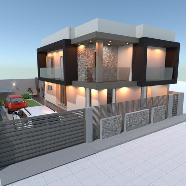 nuotraukos namas terasa garažas eksterjeras namų apyvoka idėjos