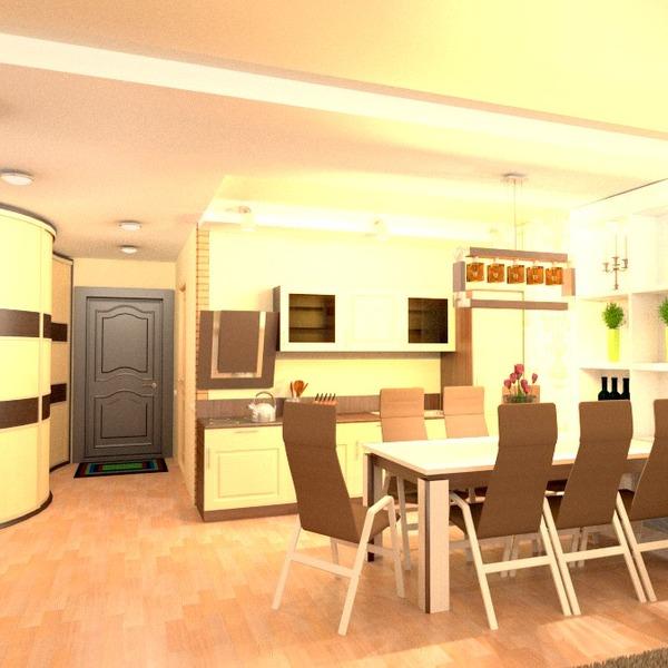 foto appartamento cucina illuminazione rinnovo sala pranzo monolocale vano scale idee