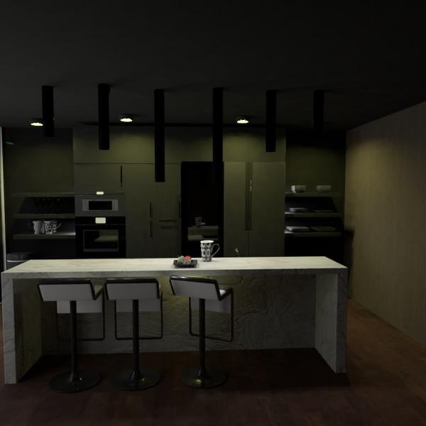 zdjęcia dom kuchnia oświetlenie przechowywanie pomysły