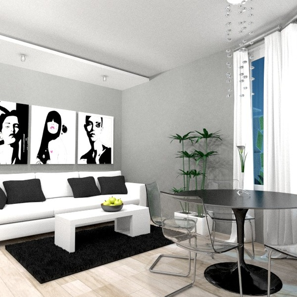 photos appartement meubles décoration salon cuisine salle à manger studio idées