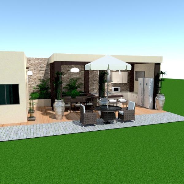 fotos terrasse mobiliar küche outdoor esszimmer ideen