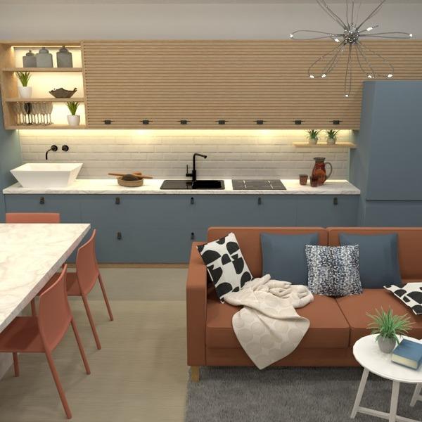 nuotraukos dekoras virtuvė apšvietimas valgomasis studija idėjos