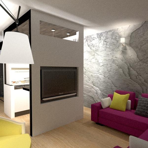 fotos apartamento decoración salón cocina iluminación reforma estudio ideas