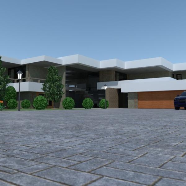 photos garage extérieur paysage architecture entrée idées