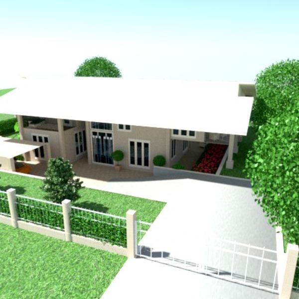 foto casa veranda garage oggetti esterni paesaggio idee