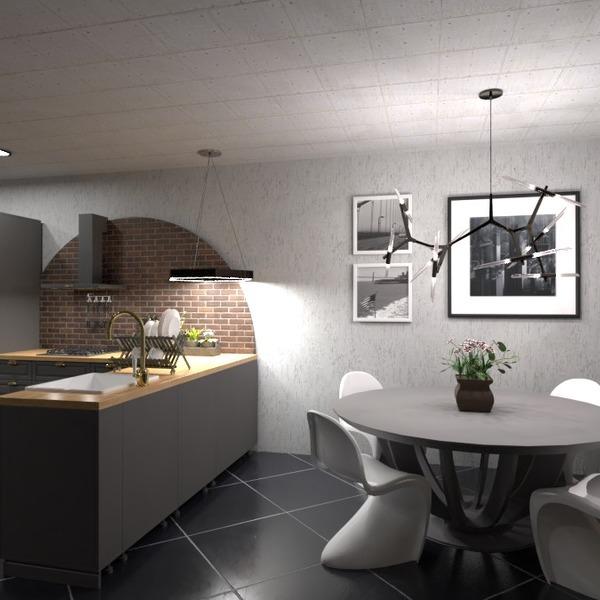 nuotraukos virtuvė apšvietimas idėjos