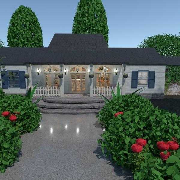 nuotraukos namas eksterjeras kraštovaizdis prieškambaris idėjos
