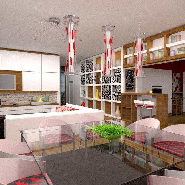 photos appartement meubles salon cuisine eclairage rénovation architecture espace de rangement idées