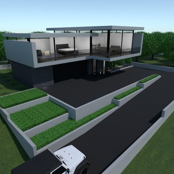 nuotraukos namas garažas kraštovaizdis аrchitektūra prieškambaris idėjos