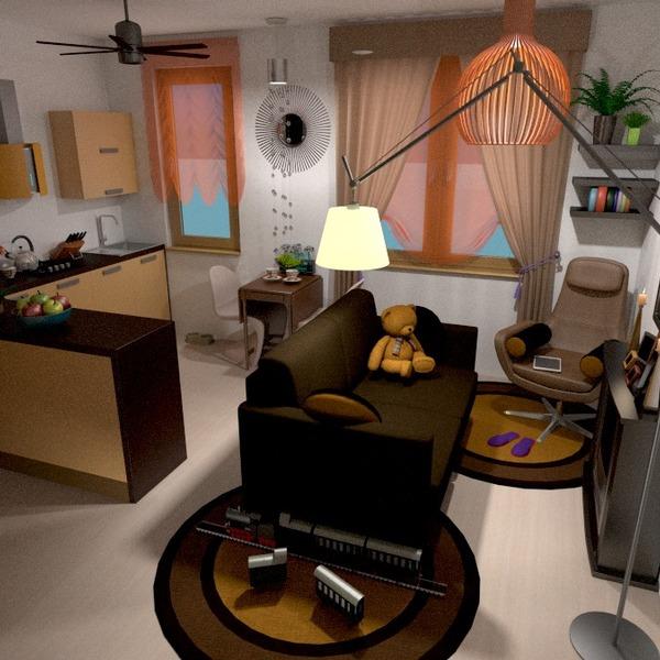 foto appartamento decorazioni saggiorno cucina monolocale idee