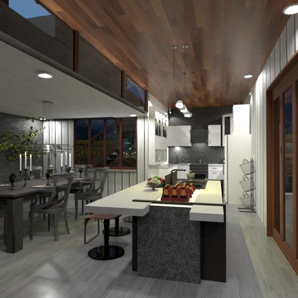 nuotraukos namas virtuvė apšvietimas kraštovaizdis valgomasis idėjos