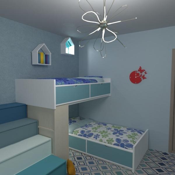 foto arredamento decorazioni cameretta illuminazione idee