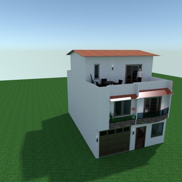 fotos casa varanda inferior mobílias garagem área externa arquitetura ideias