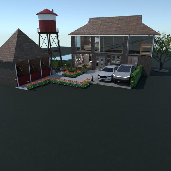nuotraukos namas svetainė garažas eksterjeras prieškambaris idėjos
