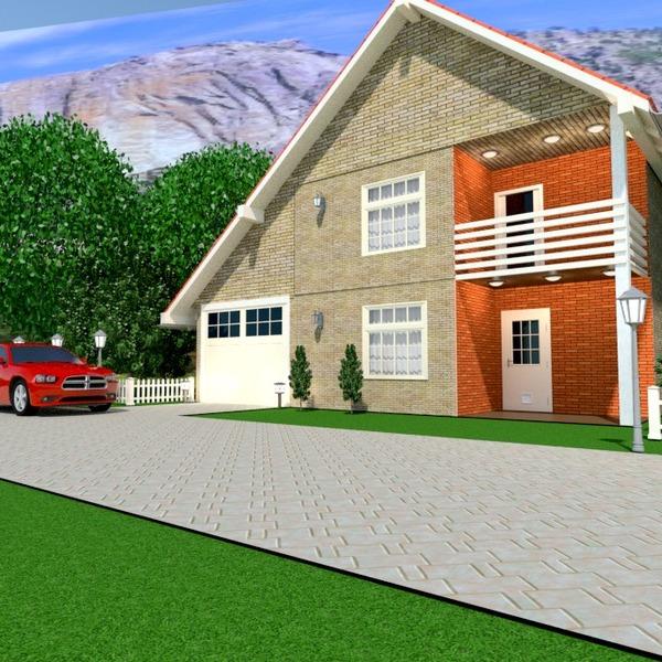 идеи дом терраса гараж ландшафтный дизайн архитектура идеи