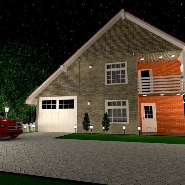 идеи дом гараж улица освещение ландшафтный дизайн архитектура идеи