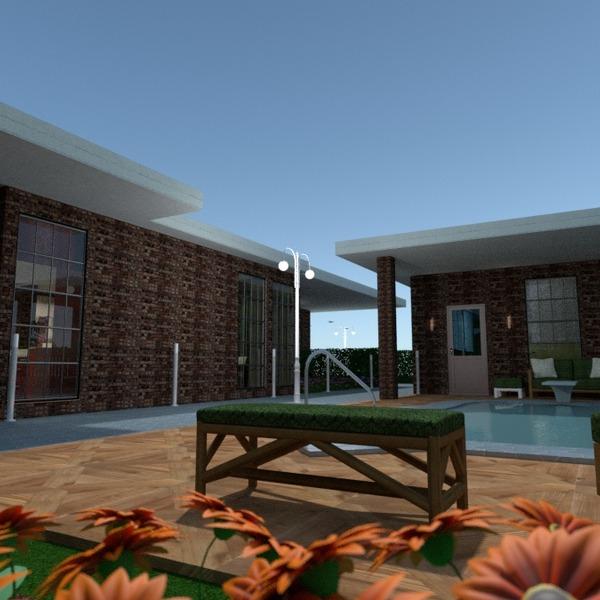 fotos casa garagem área externa iluminação paisagismo arquitetura despensa ideias