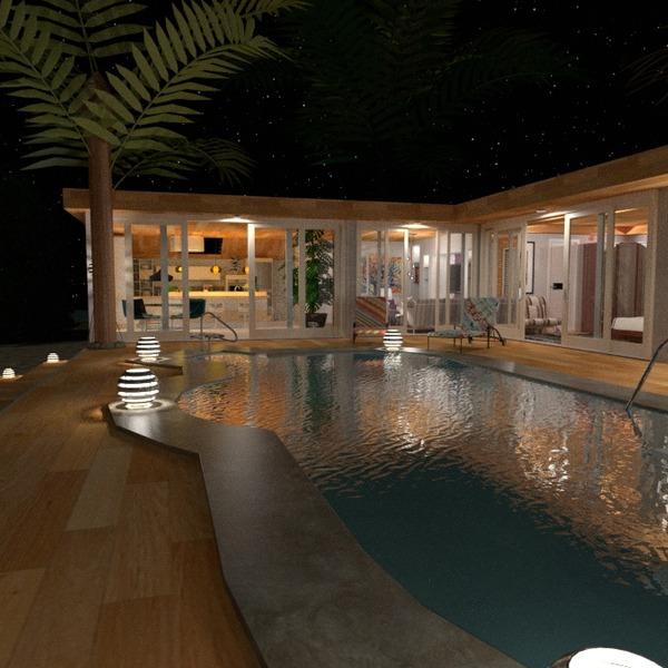 photos house terrace furniture lighting landscape ideas