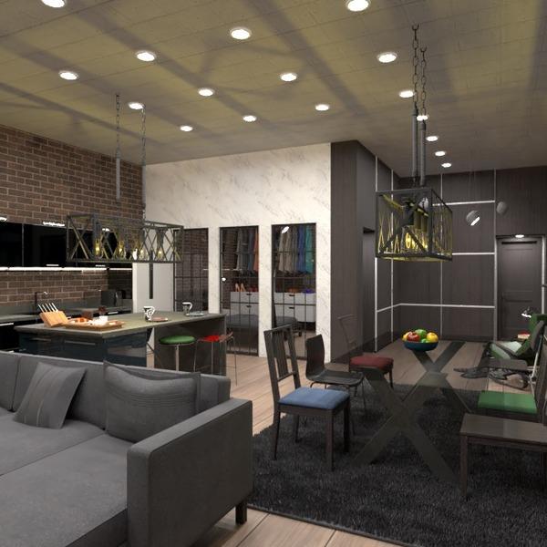 photos appartement meubles salon cuisine salle à manger idées