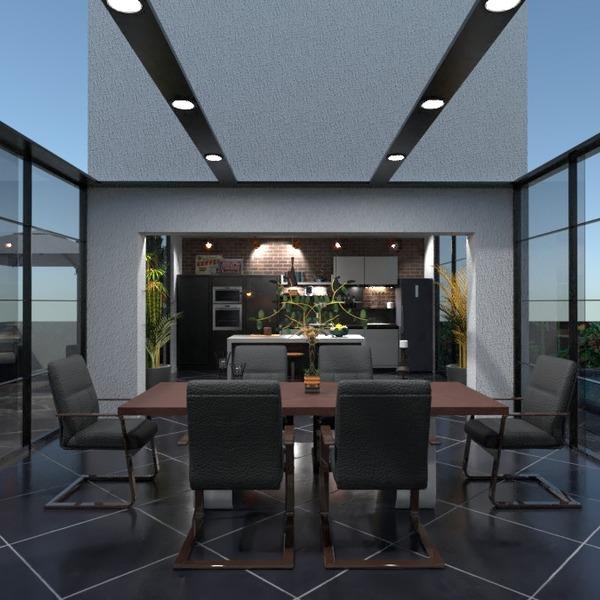 nuotraukos butas terasa virtuvė eksterjeras valgomasis idėjos