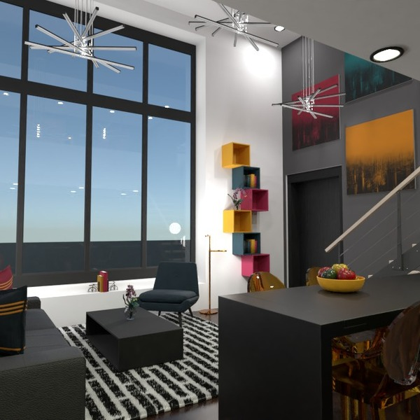 fotos apartamento mobílias decoração quarto sala de jantar ideias