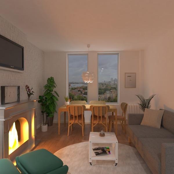 zdjęcia mieszkanie zrób to sam pokój dzienny jadalnia pomysły