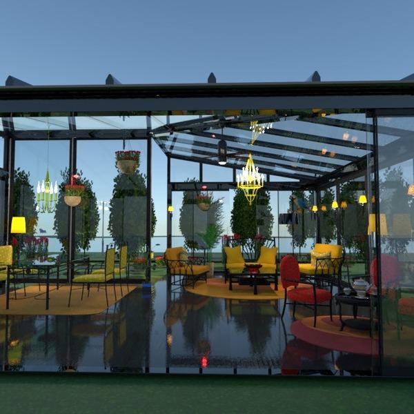 nuotraukos terasa dekoras eksterjeras apšvietimas kraštovaizdis idėjos