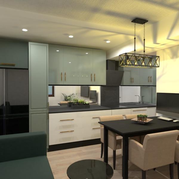 nuotraukos butas svetainė virtuvė renovacija аrchitektūra idėjos