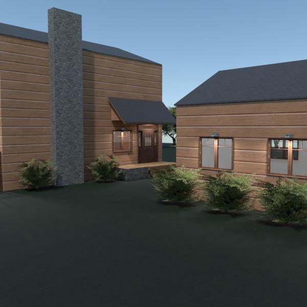 foto casa garage oggetti esterni rinnovo architettura idee