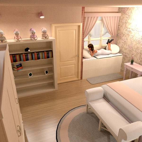 foto decorazioni angolo fai-da-te camera da letto cameretta idee