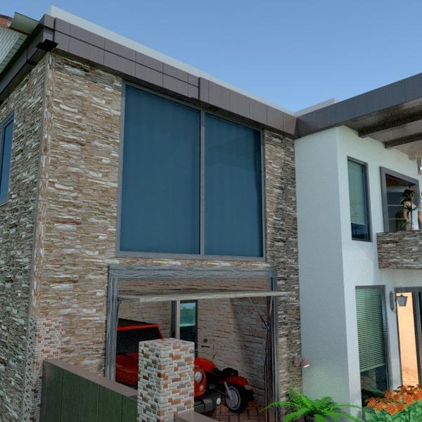 zdjęcia dom taras garaż na zewnątrz architektura pomysły