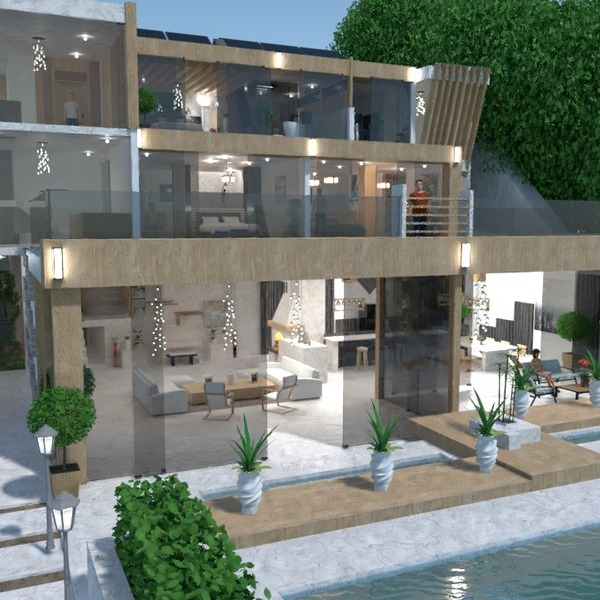 fotos casa área externa arquitetura ideias