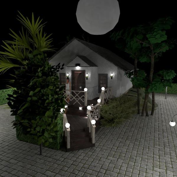 nuotraukos namas dekoras eksterjeras apšvietimas idėjos