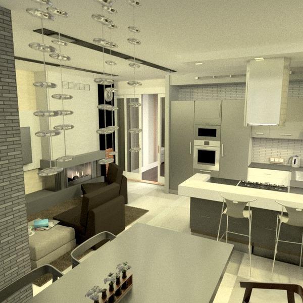 foto appartamento arredamento saggiorno cucina monolocale idee
