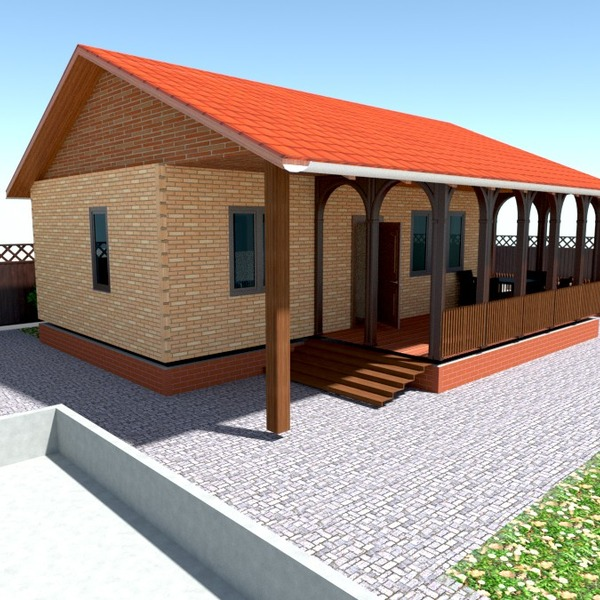 nuotraukos namas terasa eksterjeras renovacija аrchitektūra idėjos