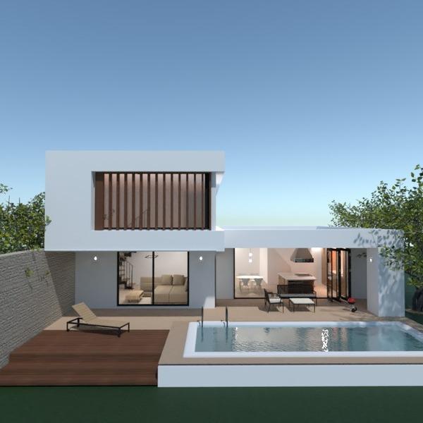 fotos casa decoração área externa paisagismo utensílios domésticos ideias