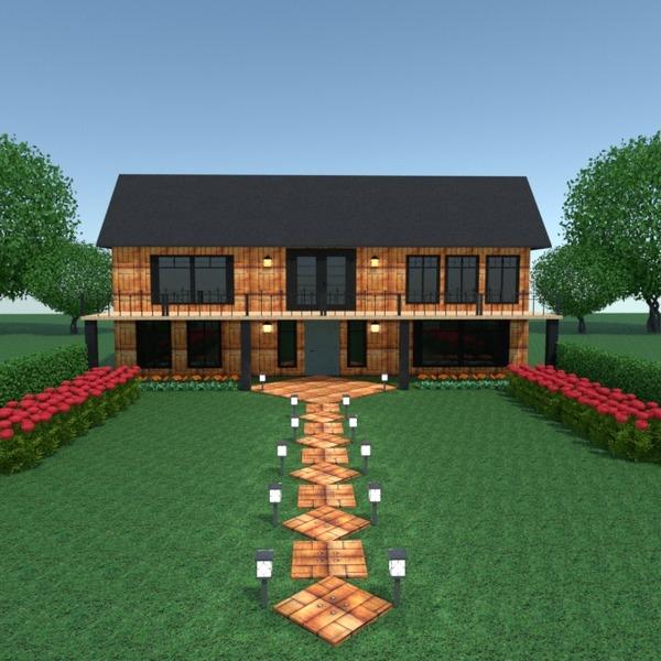 fotos casa terraza iluminación paisaje arquitectura ideas